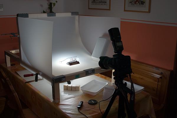съемка изделий подсветка снизу