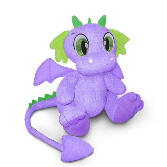 выкройка игрушки дракон