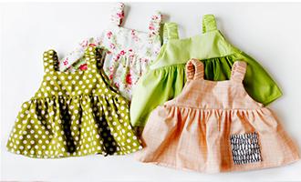 пошив сарафана для малышки