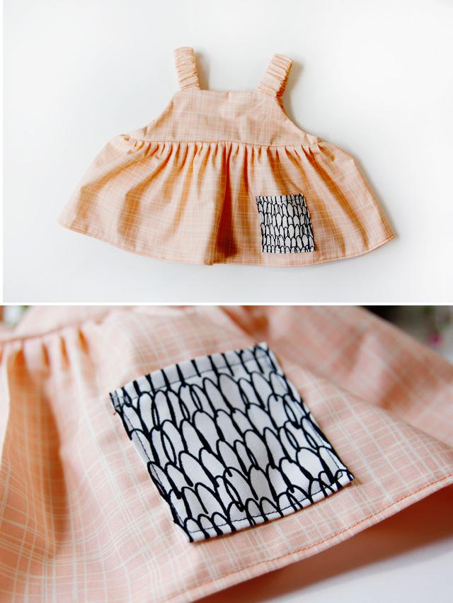 как сшить платье для малышки