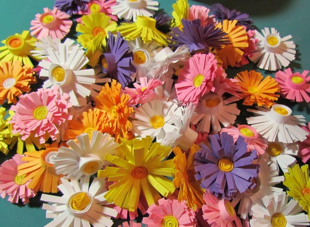 Цветок счастья из бумаги своими руками 521