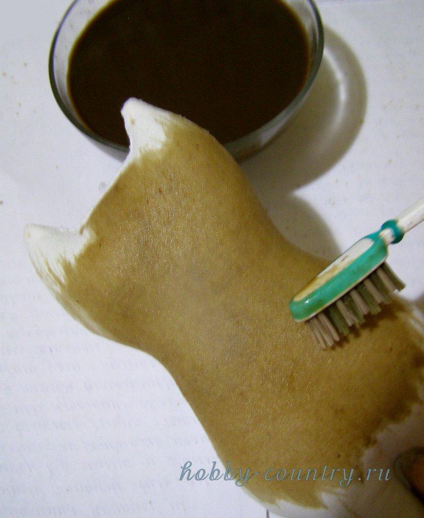 +как сделать кофейные игрушки