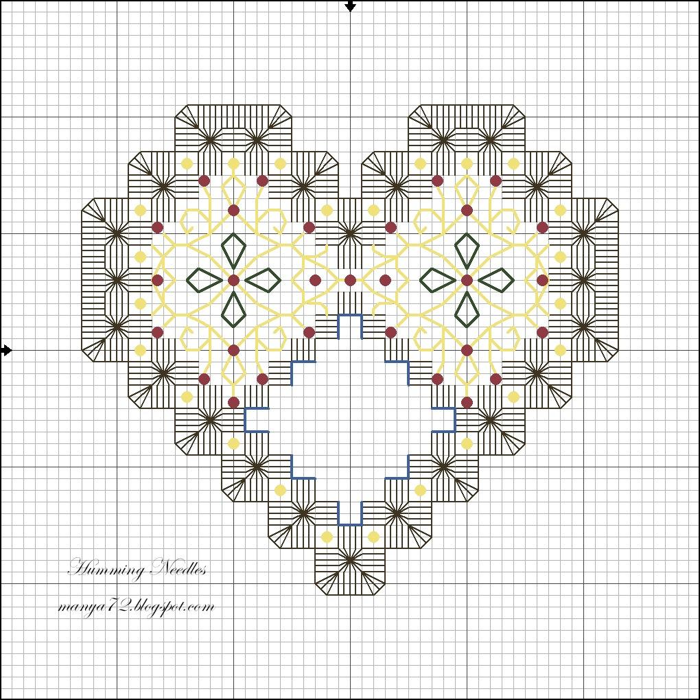 Вышивка хардангер для начинающих схемы 61