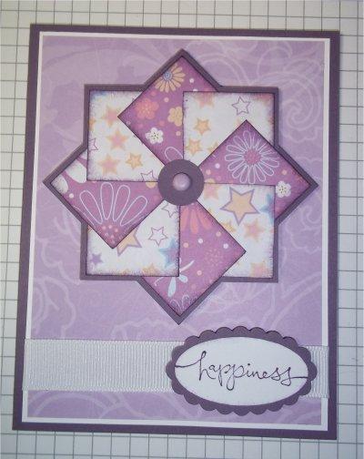 открытка декор вертушка