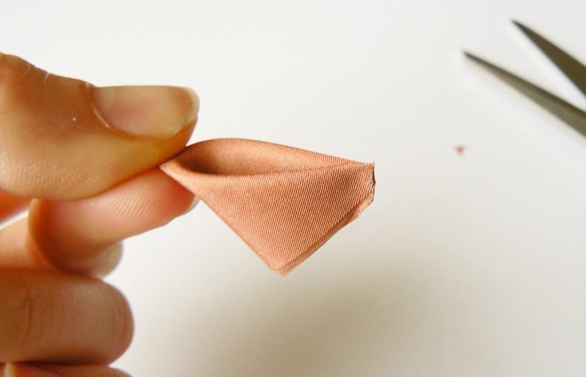 лепестки канзаши как делать узкий