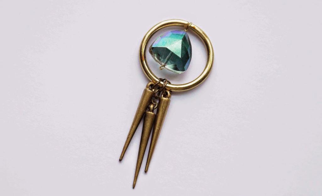 ожерелье из бусин подвесок мастер-класс