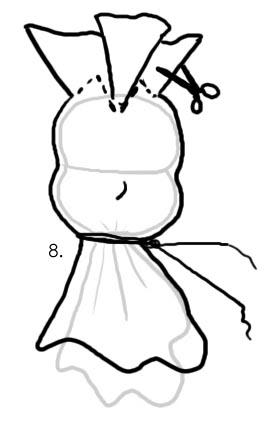 вальдорфская кукла изготовление