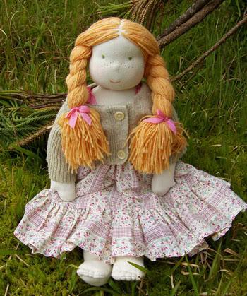 как сшить вальдорфскую куклу