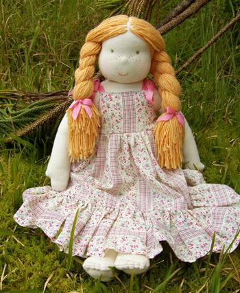 вальдорфская кукла мастер класс