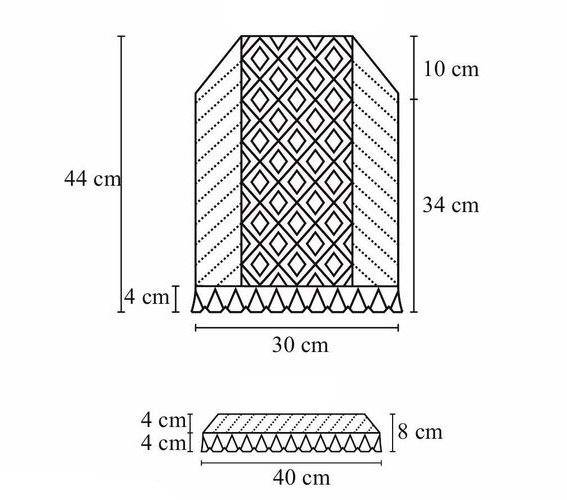 блузка топ спицами схема выкройка