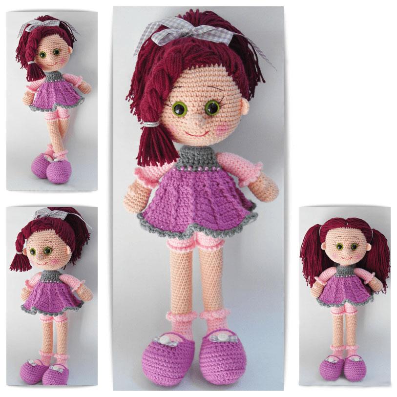 амигуруми кукла как связать