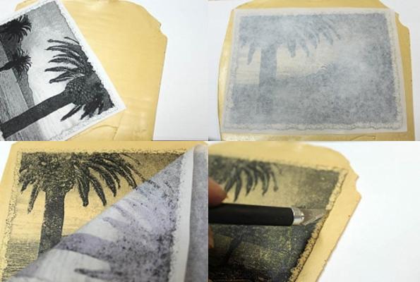 перевод изображения на полимерную глину