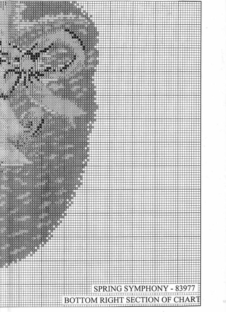 """Схема для вышивки крестом """"Spring Symphony"""""""