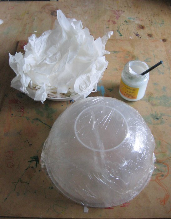 Как сделать лицо с помощью папье маше - МБДОУ детский сад 24