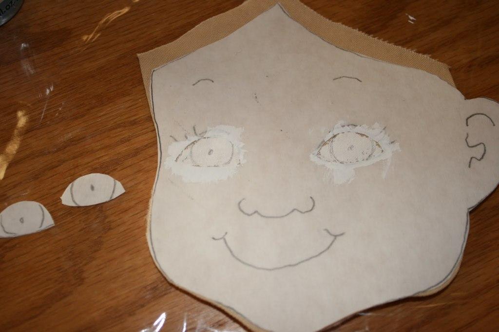 куклы ручной работы лицо