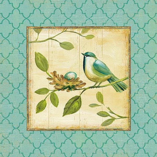 птицы для декупажа