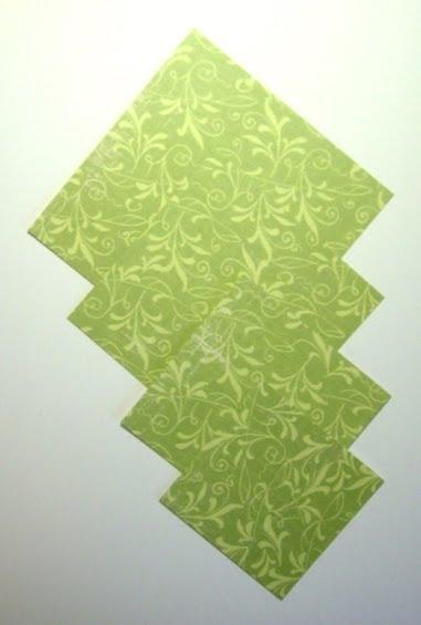 поделки из бумаги елка