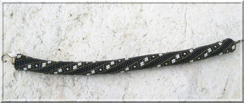 бисерный жгут крючком