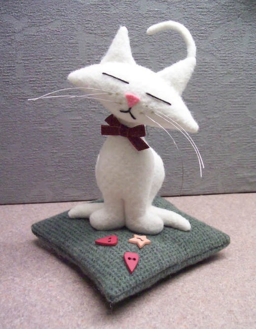 Игрушка кошечка своими руками 695