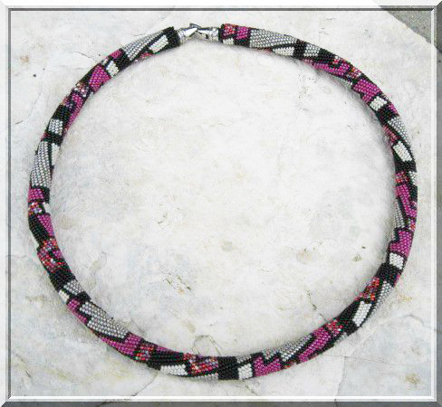 бисерный жгут схема