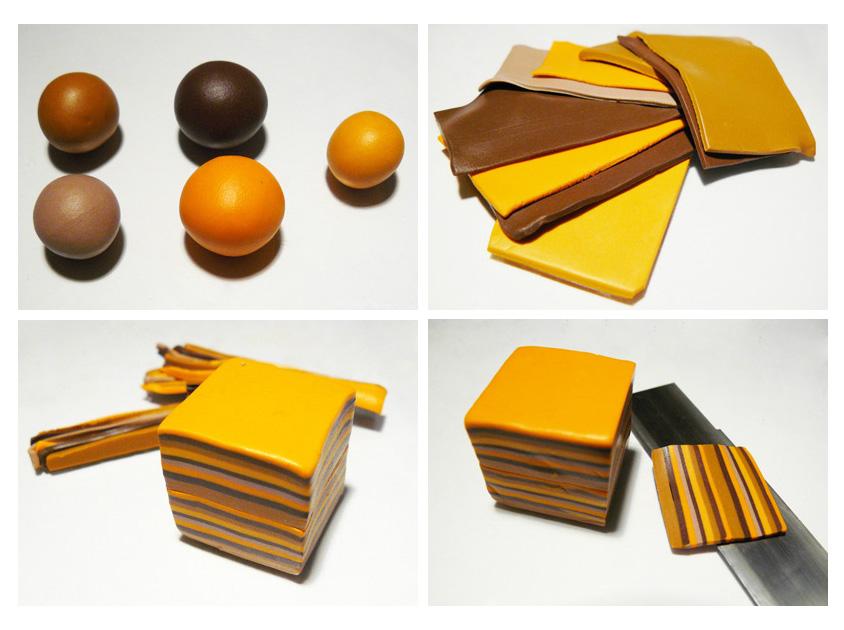 бусины пандора из полимерной глины