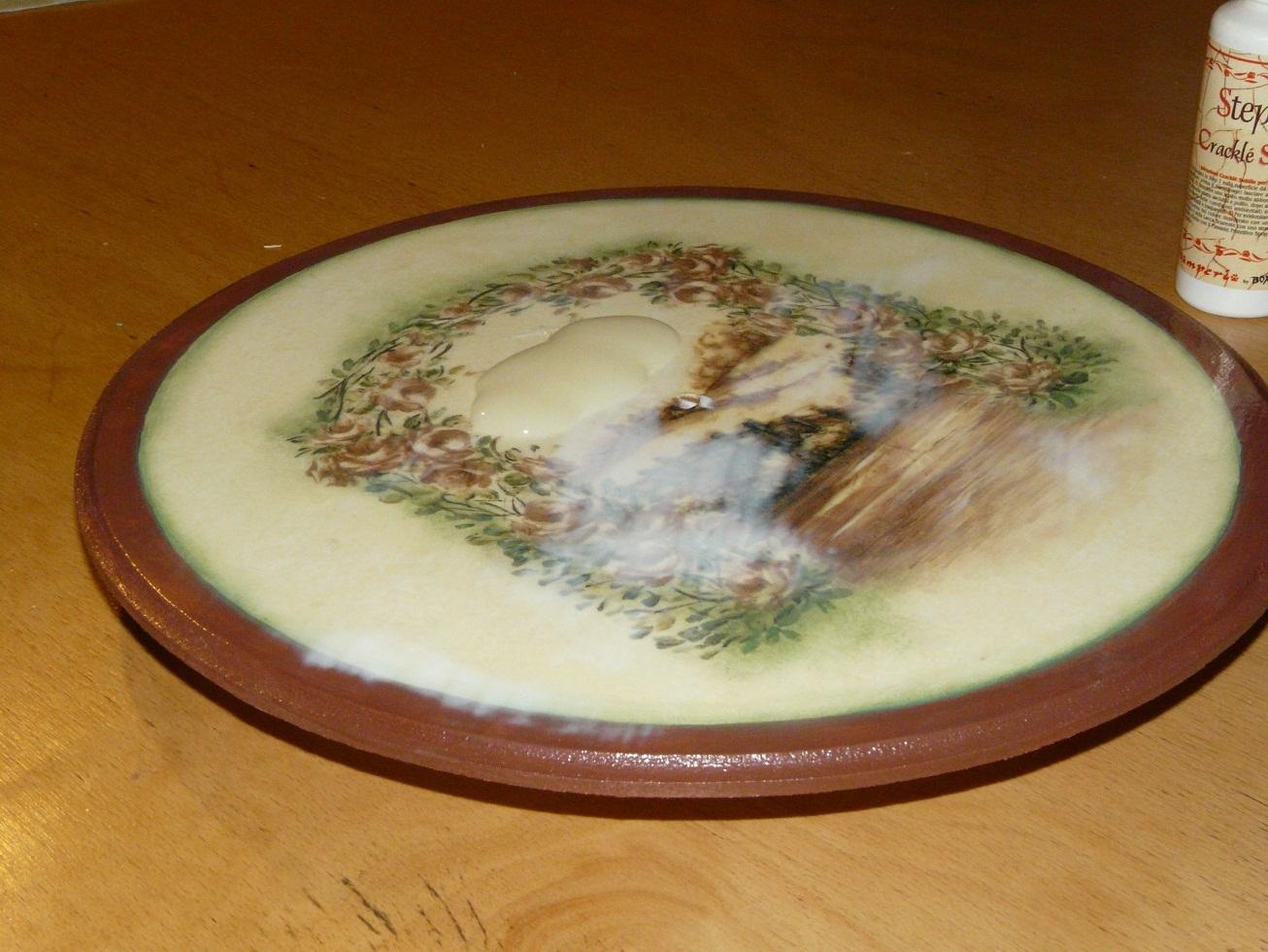 Декупаж табуретки для начинающих пошагово из салфеток