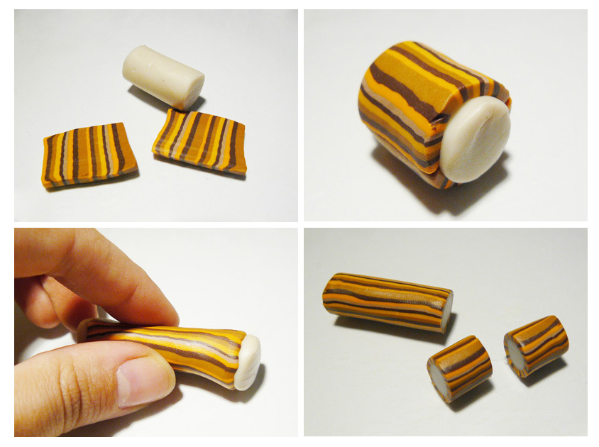 бусины из полимерной глины