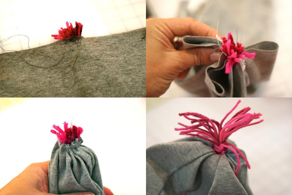 как пошить шапку из трикотажа