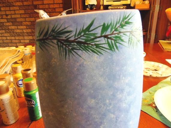 вазы к новому году