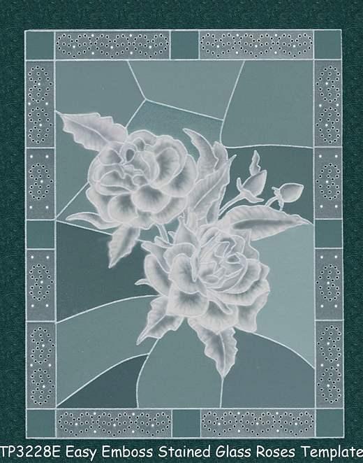 пергамано шаблон розы
