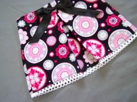 юбка со складкой для девочки