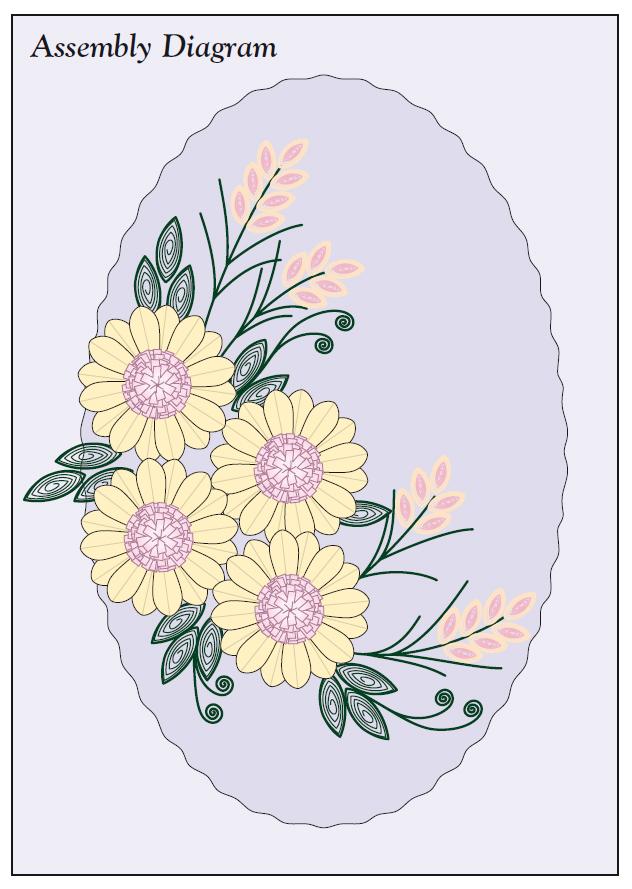 квиллинг открытки цветы
