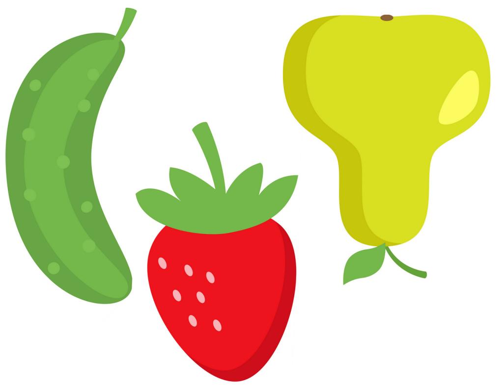 фрукты клипарт