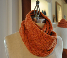 шарф снуд схема вязания