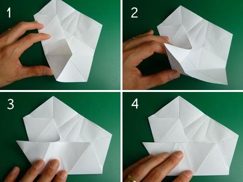 оригами из бумаги схемы звезда
