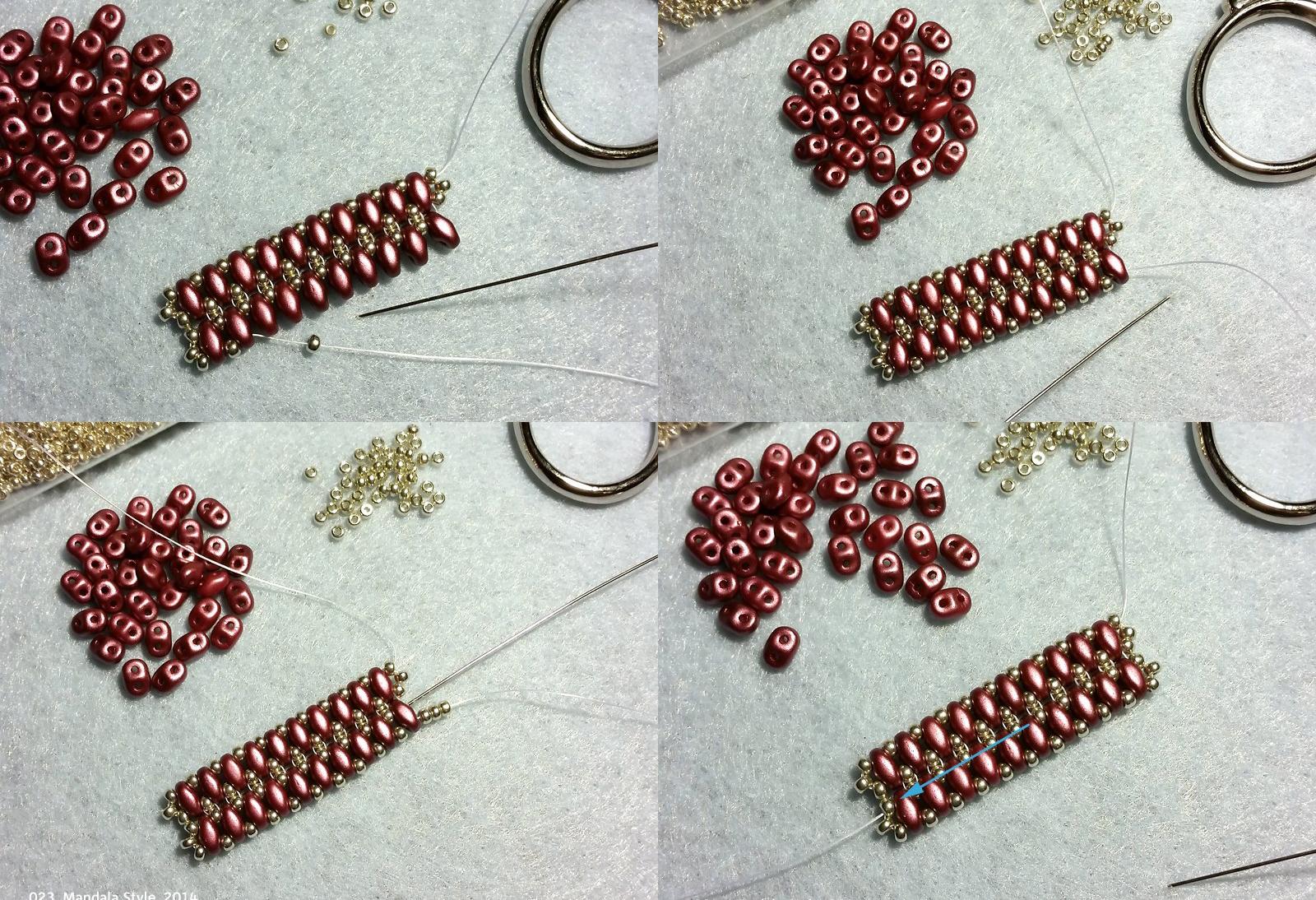 плетение из бусин схемы браслетов