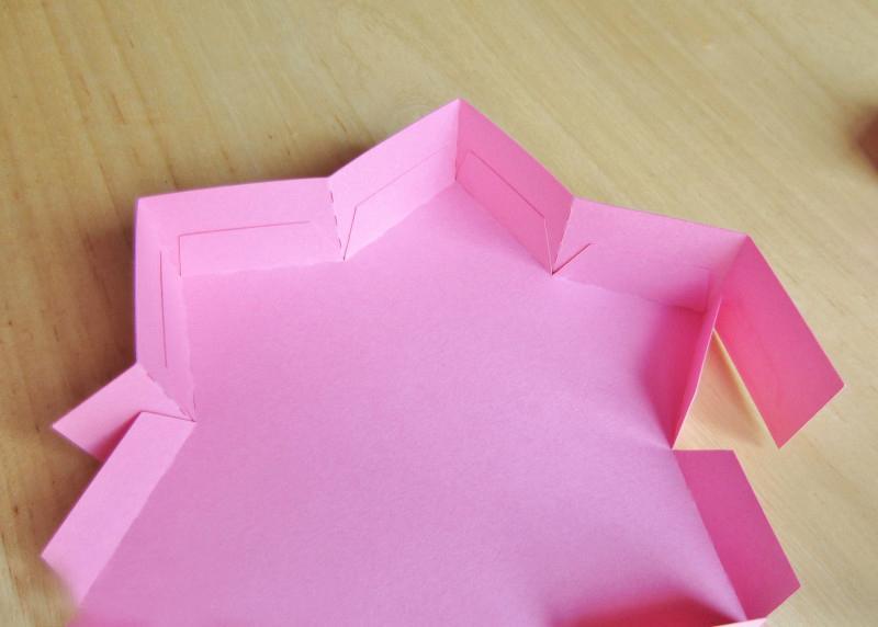 как сделать коробочку звезду