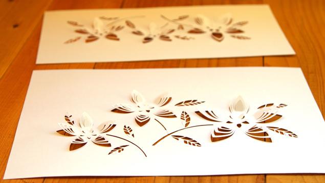 схемы для вырезания из бумаги