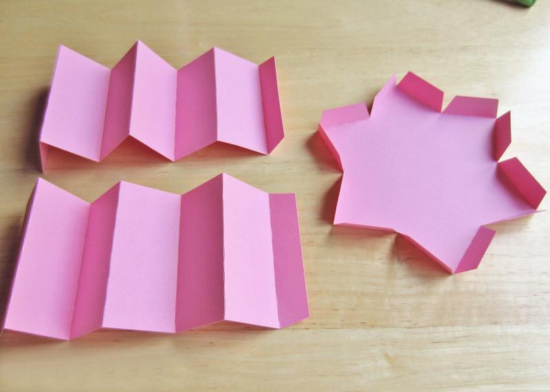 коробочка из бумаги звезда