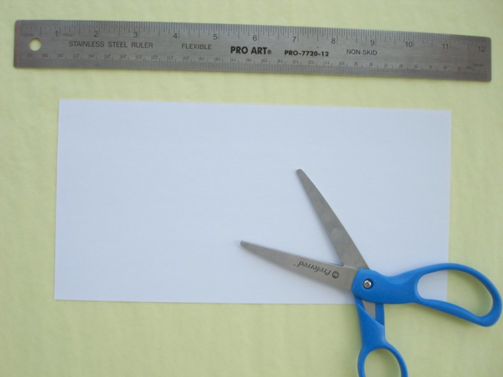 открытки из бумаги для детей