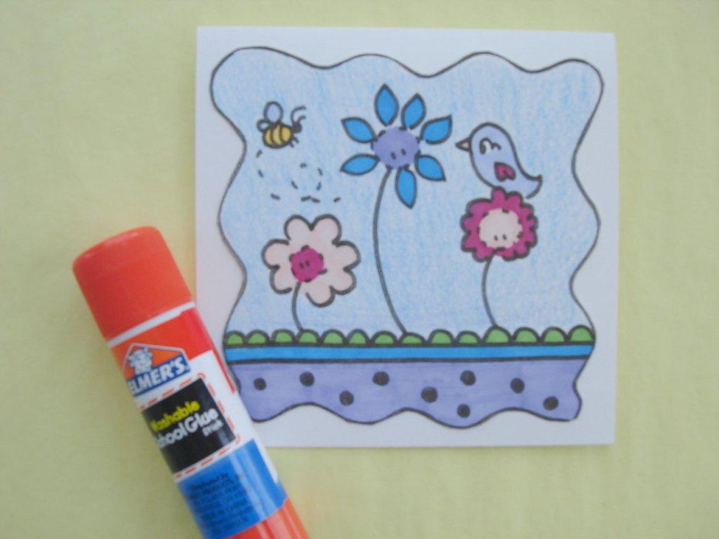 шаблоны открыток для детей