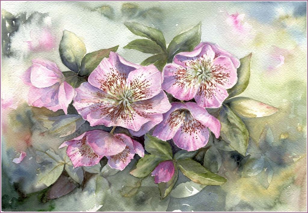 красивые цветы для декупажа