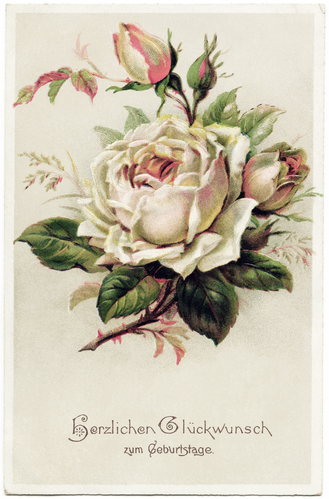 картинки для декупажа розы винтаж