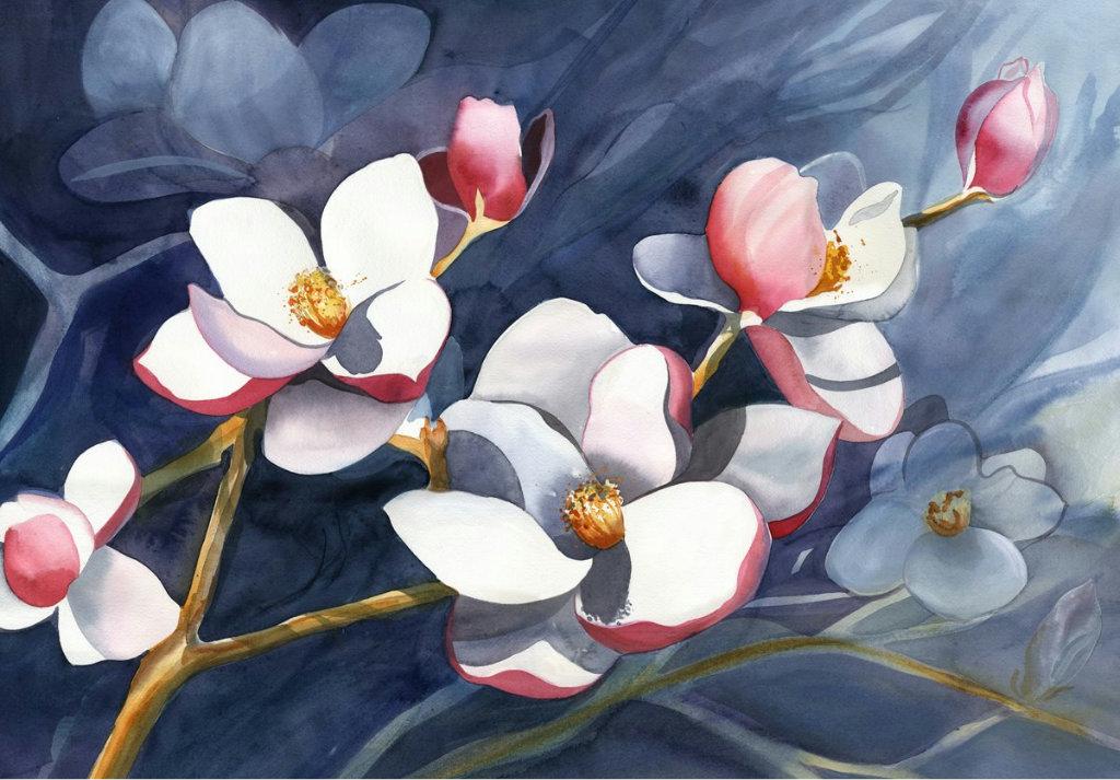 красивые картинки цветы для декупажа