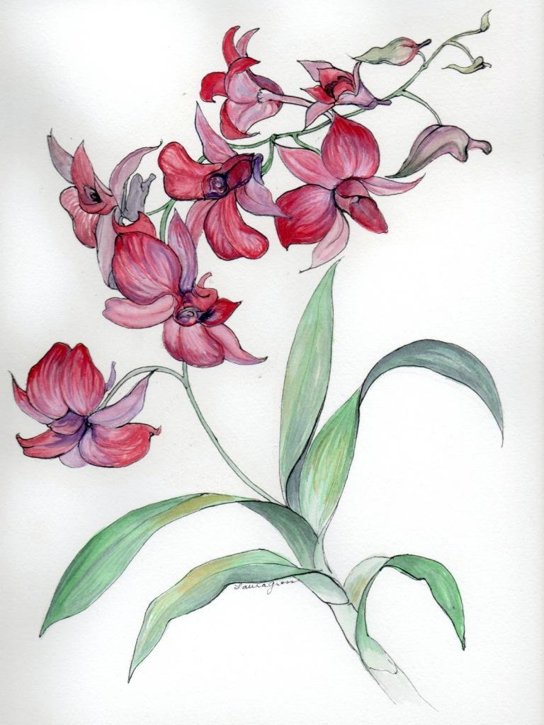 рисунки для декупажа цветы