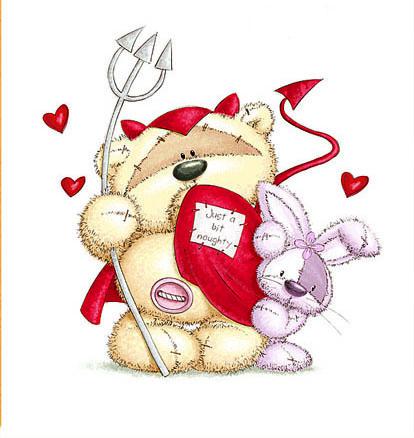 картинки мишки с сердечками