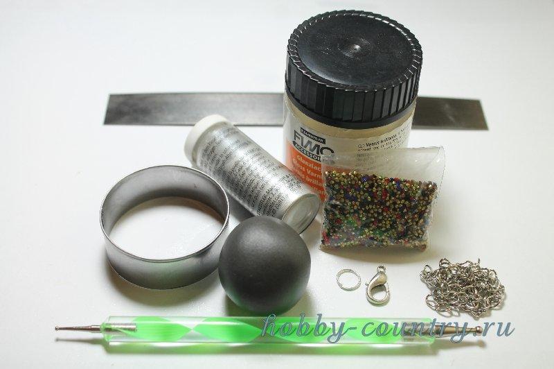мастер класс полимерная глина украшения