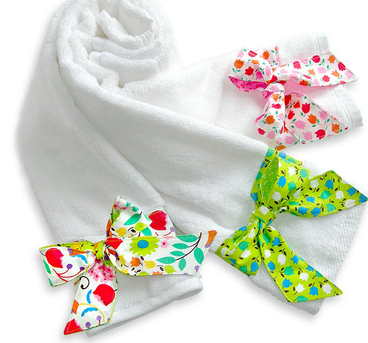 как украсить полотенце своими руками