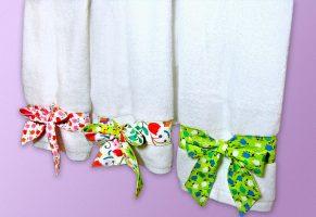 украсить полотенце мк