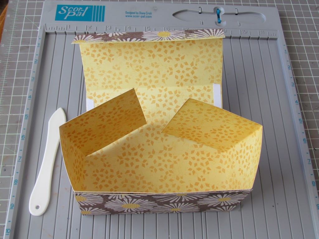 коробка из бумаги своими руками